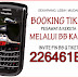 BOOKING TIKET PESAWAT VIA BLACKBERRY