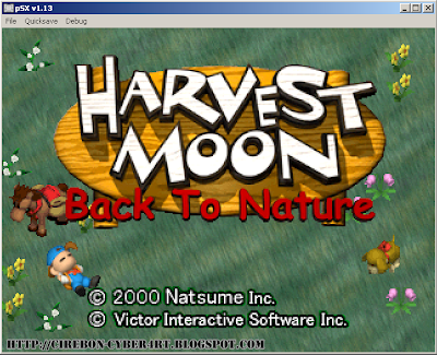 Download Game Harvest Moon: Back To Nature Bahasa Indonesia