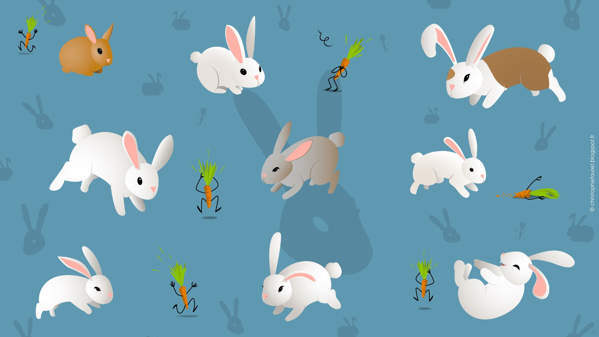 Pz c lapin dessin - Dessins lapins ...