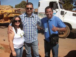 Carlos e esposa correspondentes e amigos do programa show do Catireiro em Brazlândia.