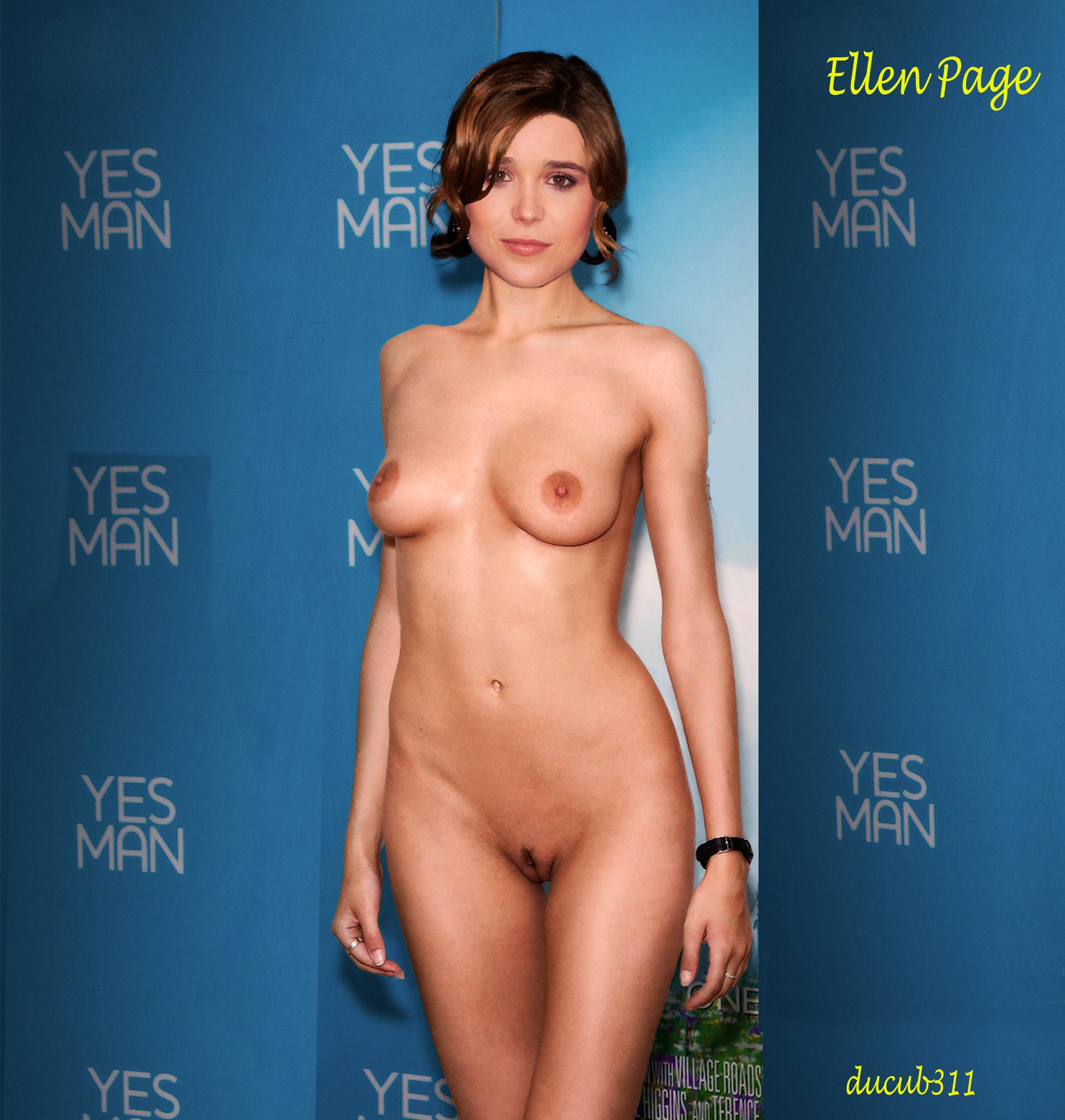 Ellen Page Nude