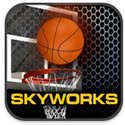 3 Points Hoops Basketball Icon Logo
