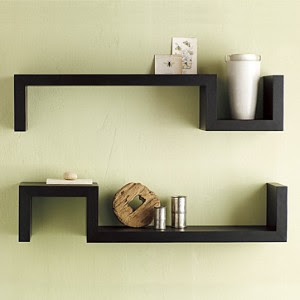 Rustic Wood Wall Shelves | Rustic Wall Art Decor