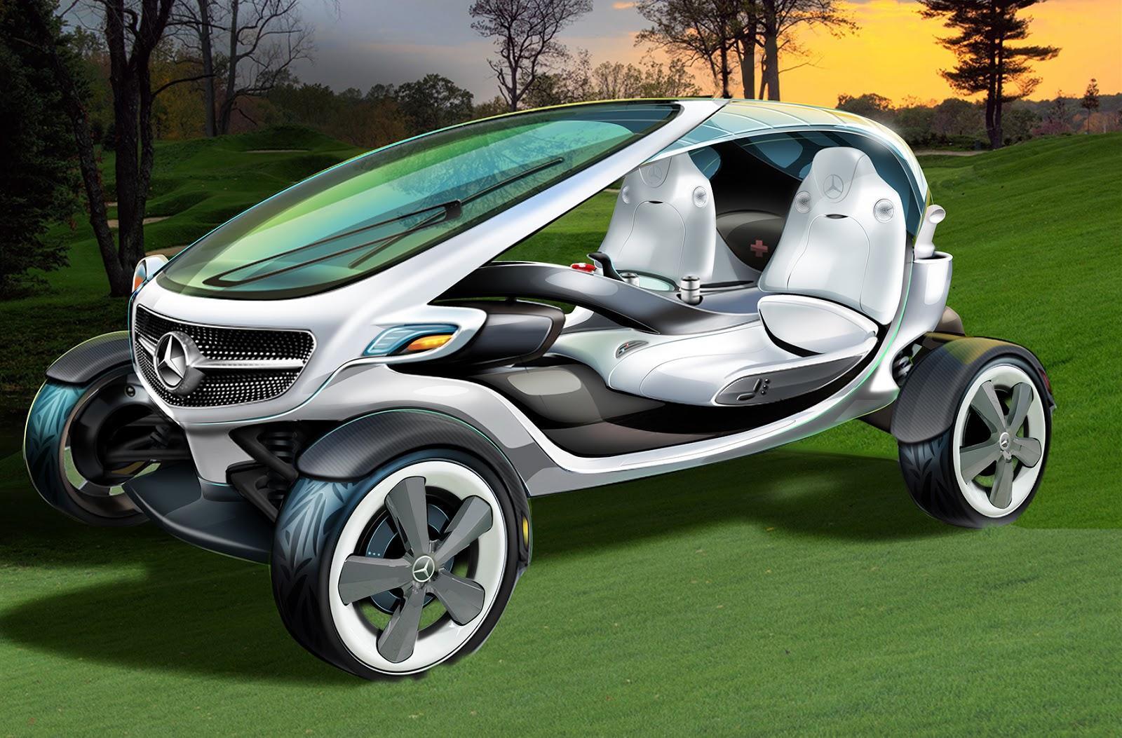 Mercedes-Benz unveil Hub Motor Powered Vision Golf Cart | Electric on maserati golf cart, harley davidson golf cart, 8 seater golf cart, ferrari golf cart, ducati golf cart, hummer golf cart, convert to gas golf cart, lamborghini golf cart, john deere golf cart, yanmar golf cart, ac golf cart, dodge ram golf cart, camaro golf cart, audi golf cart, custom golf cart, ford think golf cart, d&d golf cart, bentley golf cart, big rig golf cart, cadillac golf cart,
