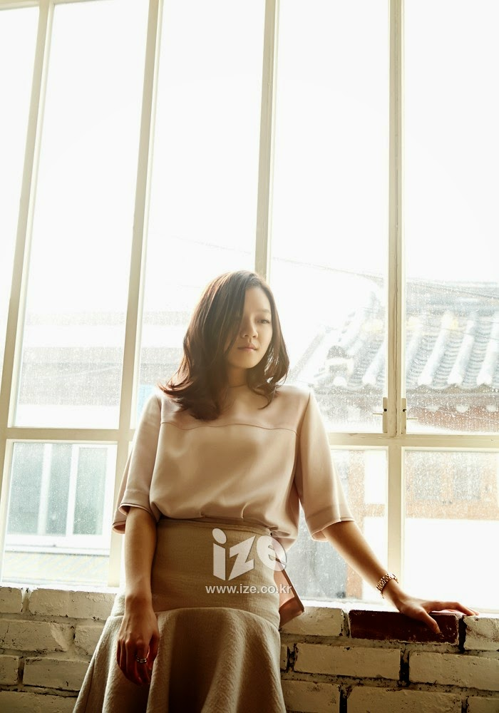 Go Ah Sung - Ize Magazine March 2014