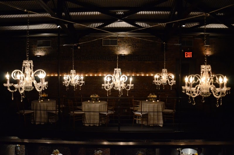 Universal Light and Sound - Recent Events: The Foundry - LED String Lights and Chandeliers ...