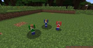 Aquí vemos todos los pequeños que se pueden encontrar dentro del mod Bones and  Stones 1.7.10