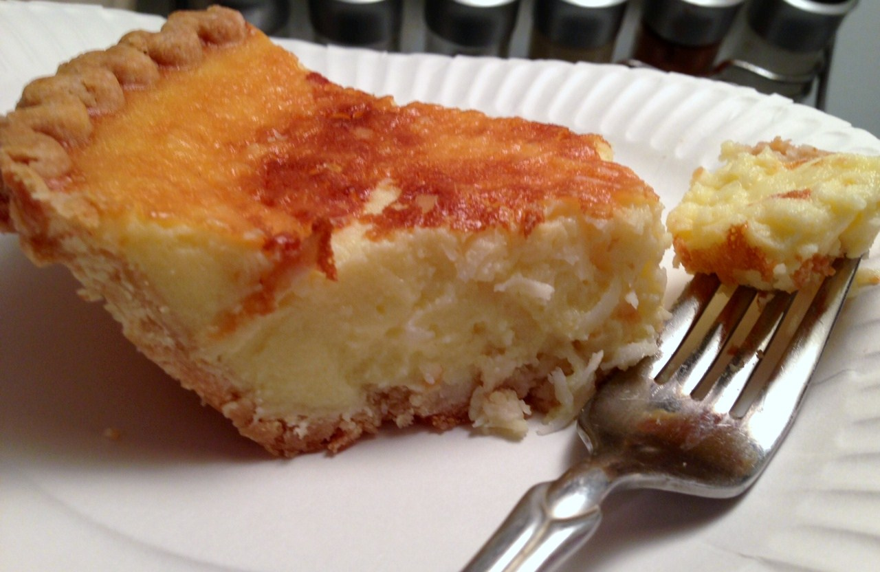 What's For Dinner Tonight Ladies? *RECIPES*: Mom's Coconut Custard Pie