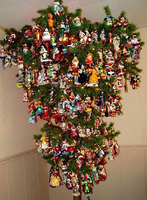Fully decorated Xmas Tree