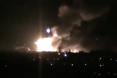 В Сватово взорвался склад боеприпасов