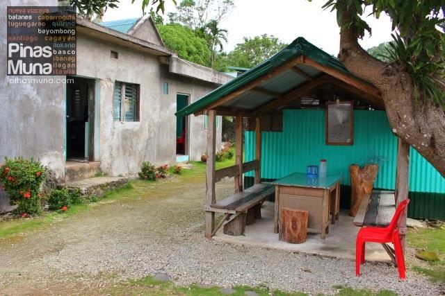 gazebo inside Cano's Lodge in Itbayat Batanes