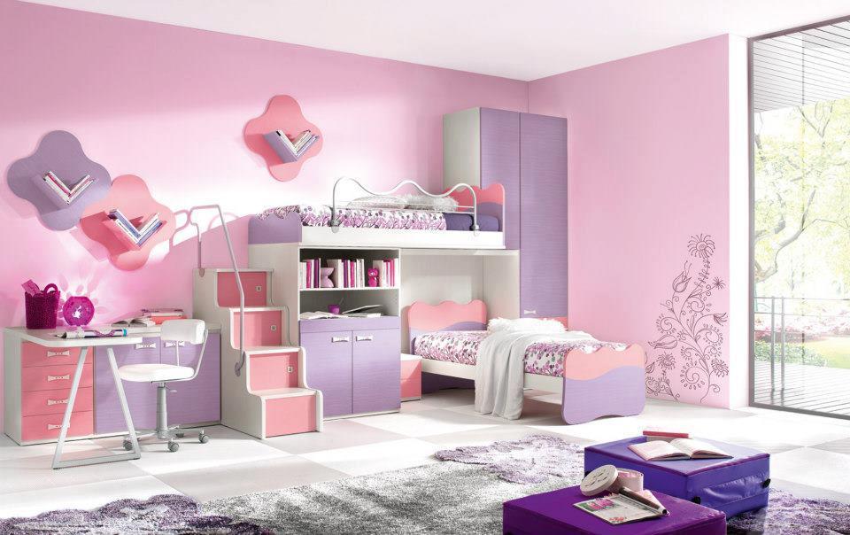 2 beaux idées pour une chambre fille ~ Intérieur décor - Decoration ...