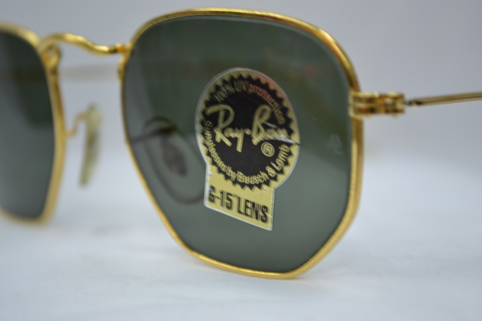 ray ban g15 lens aviator