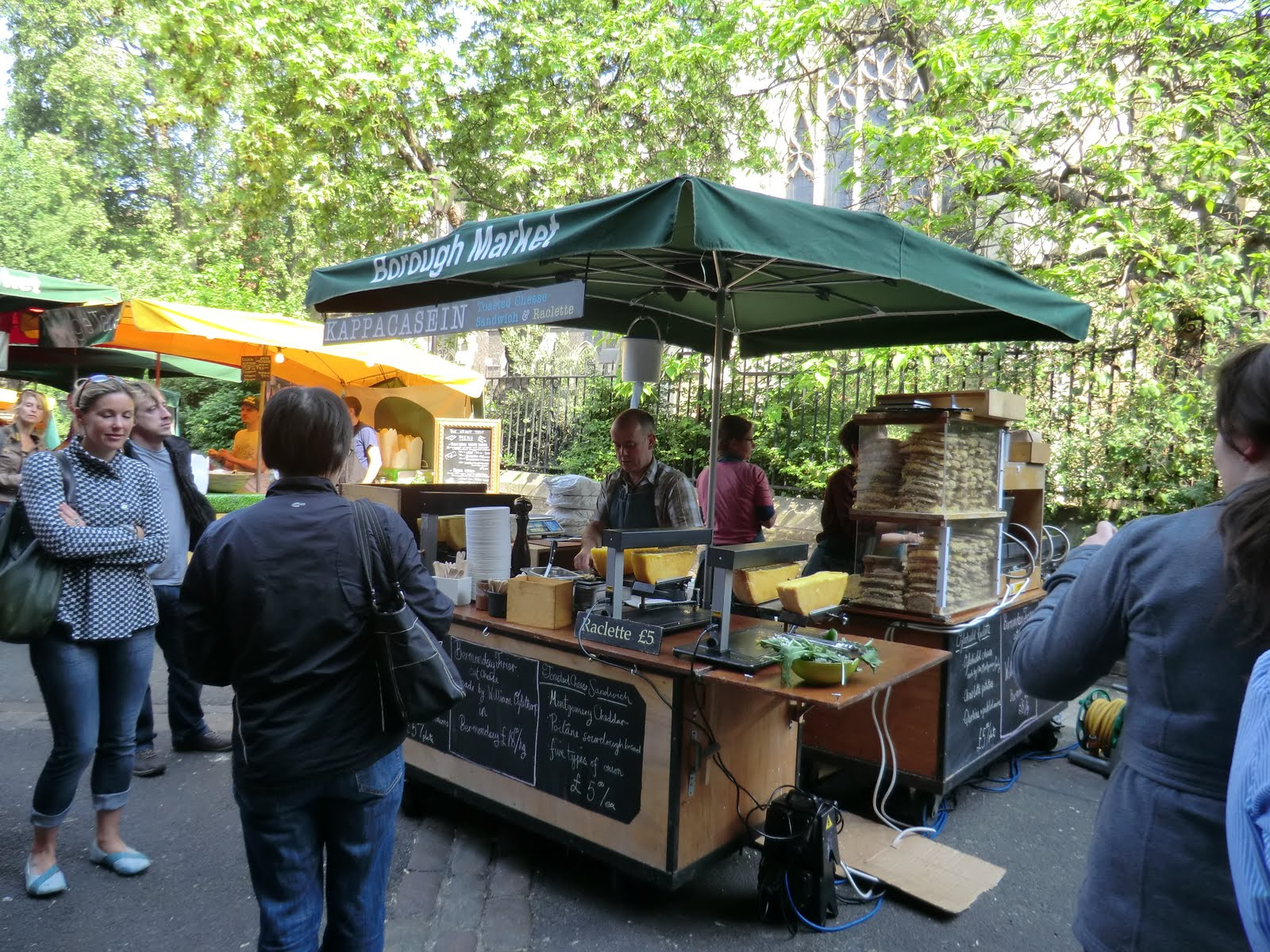La Cuisine de Sarah: Borough Market and the Ultimate Cheese Toastie