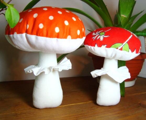 Сделать грибочки своими руками 71