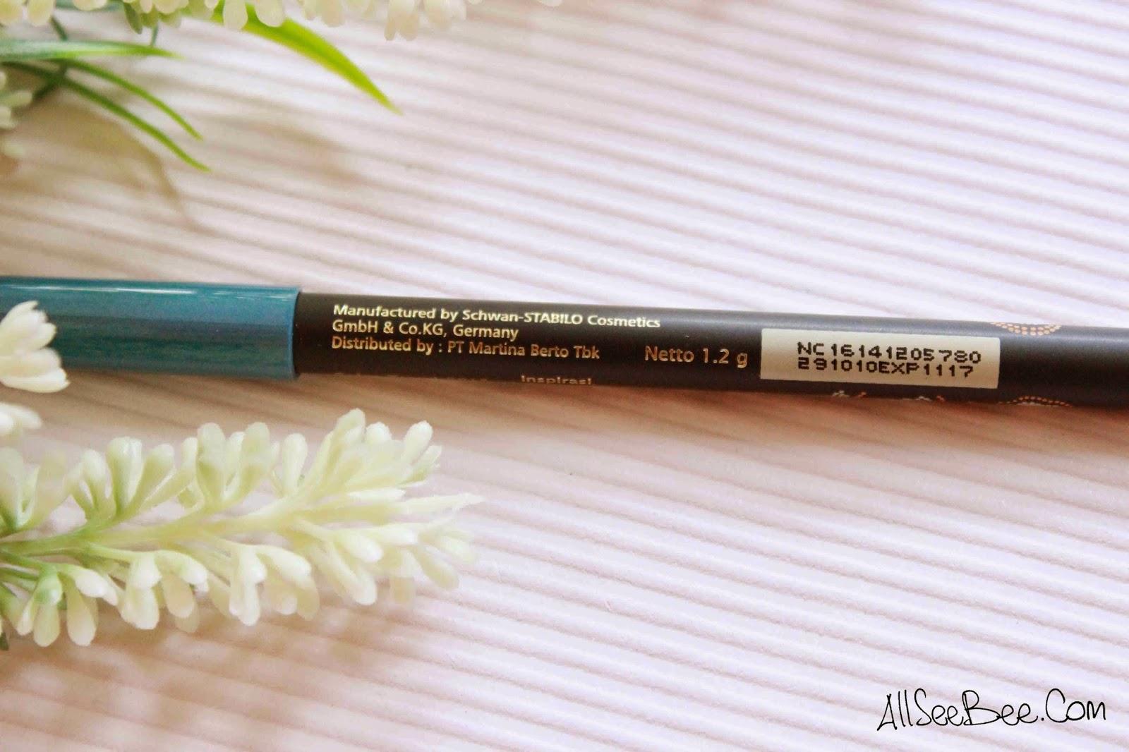 Ulasan Eyeliner Sariayu Color Trend 2015 Inspirasi Papua P01 Warna Putar Pensil Ini Memiliki Biru Laut Yang Memantulkan Cahaya Sehingga Terlihat Seperti Satin Tekstur Dari Tergolong Lembut Dan