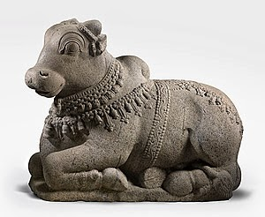 Nandi, the vehicle of Shiva.