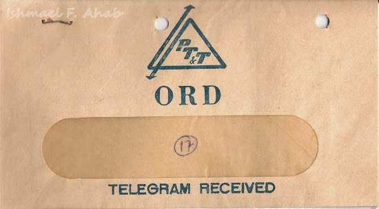Telegram envelope