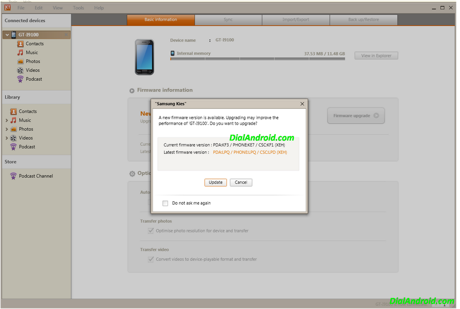Download Galaxy y s5360 odin files from TraDownload