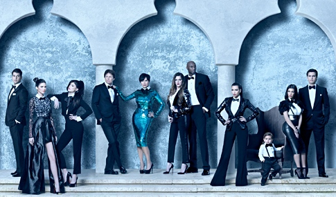 Kardashian+Christmas+card+2012+Kim+Khloe+Lamar+Kourtney+and+cute+Mason+super+fancy+outfit
