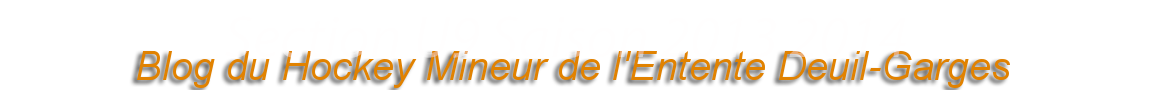 Setcion U9 Saison 2013 2014