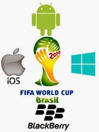 Berita Bola Terkini Piala Dunia 2014 Brazil di Android, iPhone, BlackBerry dan Windows Phone