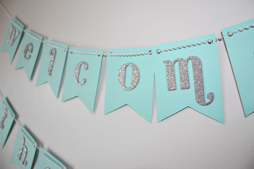 Baby shower banners party favors ideas Baby shower banners