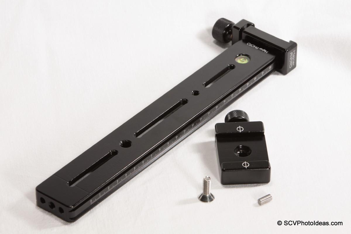 LLSB w/ Hejnar PHOTO G20-10 + F60 QR clamp w/ F61b QR clamp