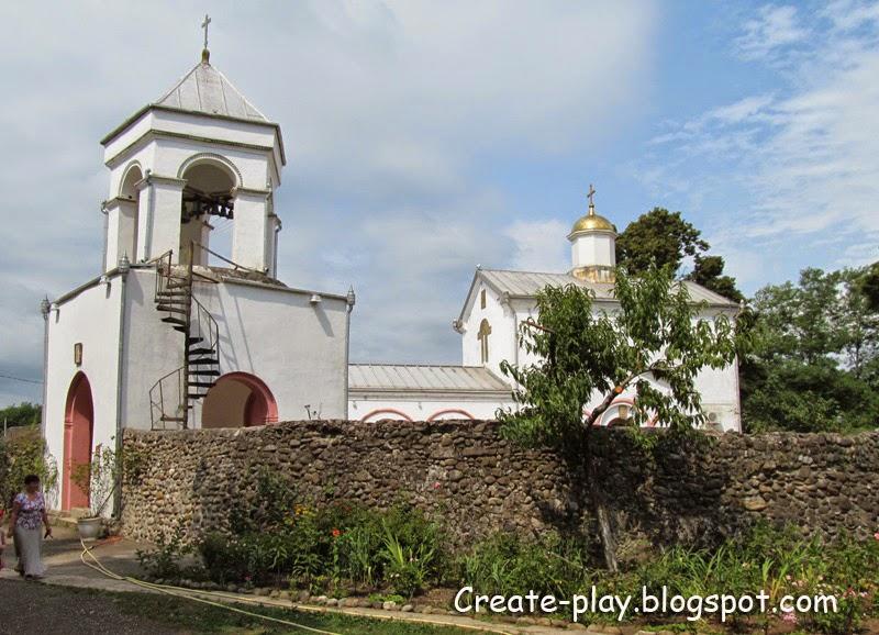 храм в Илоре Абхазия