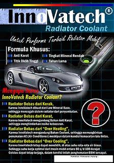 Iklan Air Radiator Bebas Karat dari Surabaya dengan Germany Technology.....