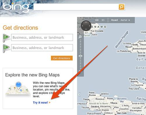 Get to know the new updated version of Bing maps : easkme