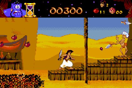 阿拉丁王子__Disney's Aladdin (dos, 模擬器)