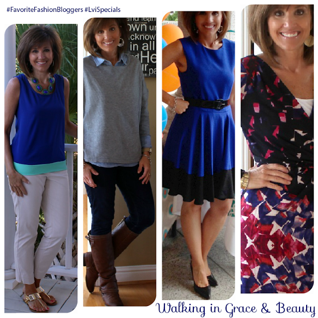 Fashion Bloggers Over 40: Walking in grace and beauty - by LuceBuona