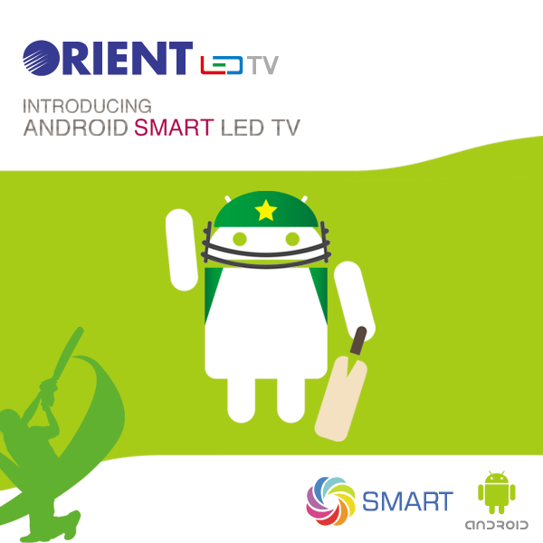 Orient Android Smart LED TV
