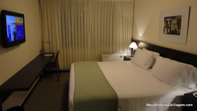 Quarto do Hotel Intercity Premium - Montevidéu, Uruguai
