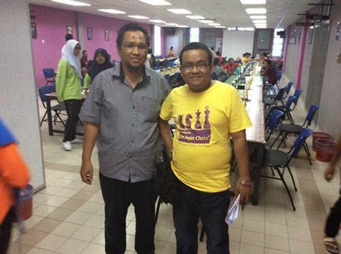 Bersama Admin Catur Kedah Zaharin