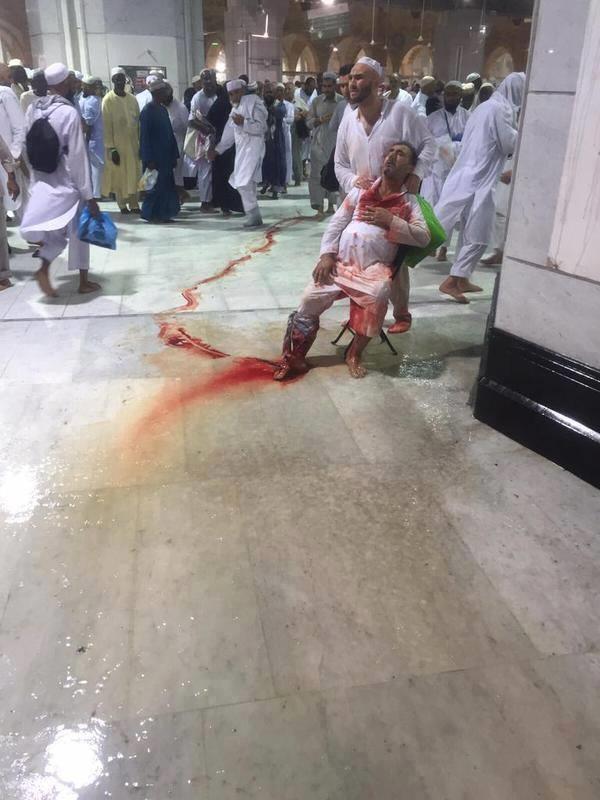 سقوط رافعة في الحرم المكي , شهداء الحرم المكي