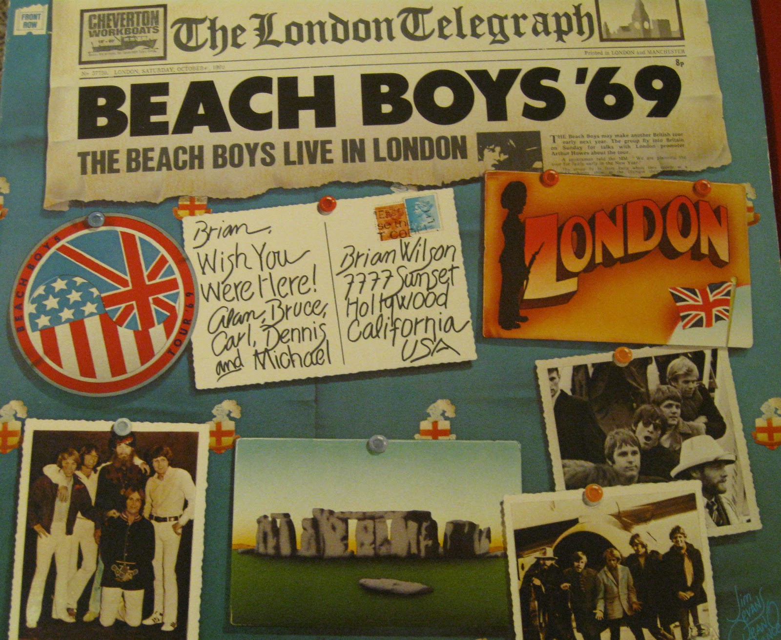 Tracking Typography Beach Boys Live In London