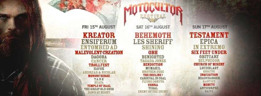 Motocultor Festival Open Air @ Saint-Nolff, Bretagne 15, 16 et 17/08/2014
