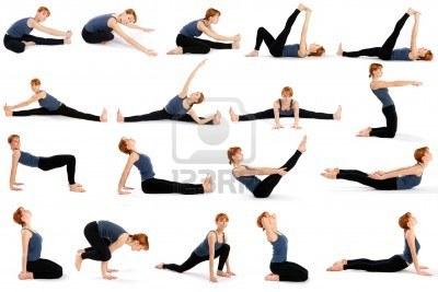 yoga en las tablas