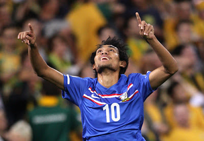 Teerasil Dangda : Thailand Football Team (1)