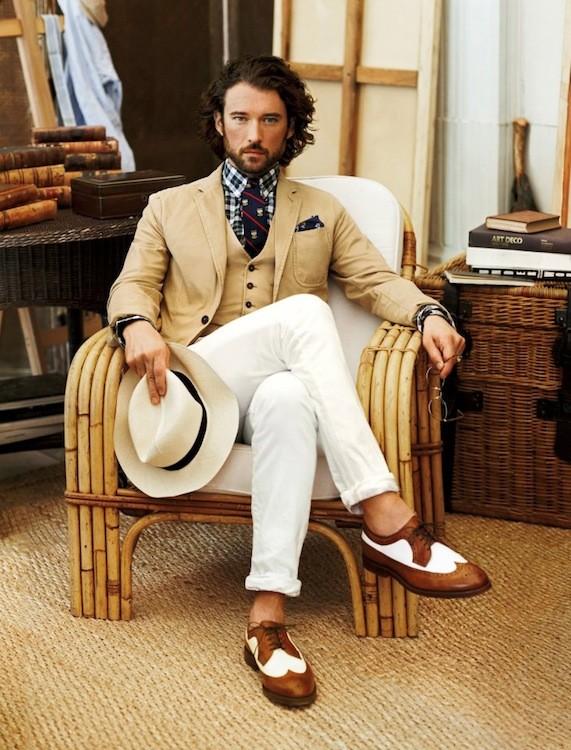 Ralph Lauren Menswear S/S 2013