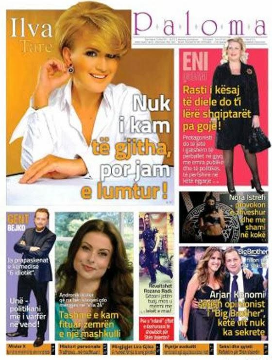Revista PALOMA - 15 Shkurt 2014