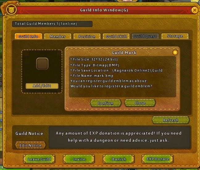 Ragnarok Online 2 Guild system