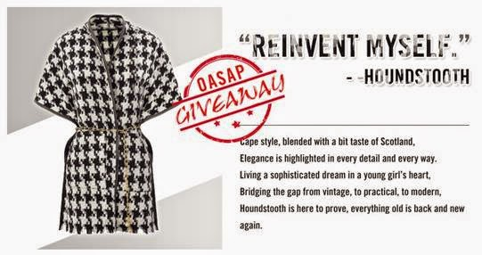 OASAP Giveaway- Win Yourself A Super Stylish Cape Coat