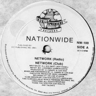 Nationwide - Network (Vinyl, 12\'\' 1989)(World Premiere Records)