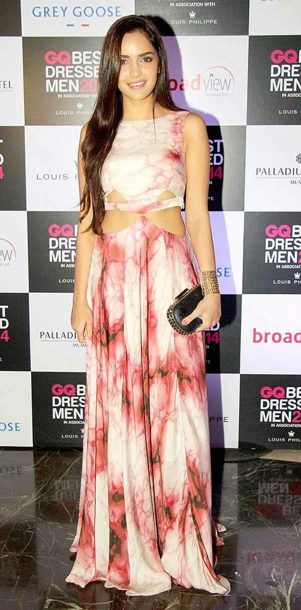 Shazahn Padamsee At GQ India's Best Dressed Men 2014 Awards