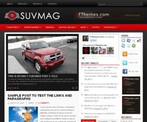 SuvMag WordPress Theme