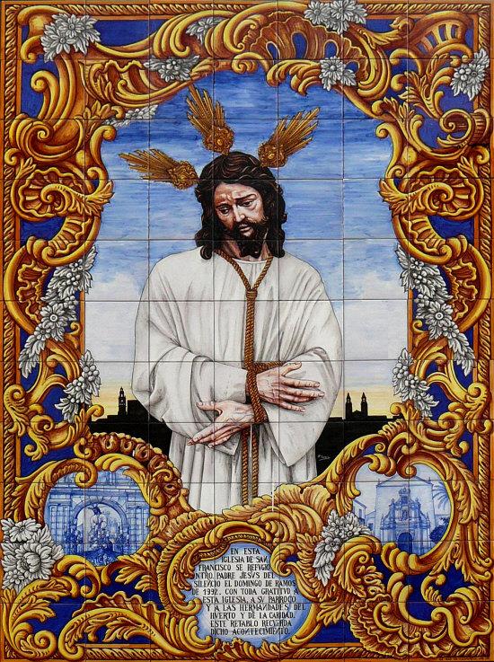 Costaleros del calvario retablos nuestro padre jes s del for Ceramicos en cordoba