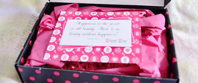 Each Bezel Box Mini subscription box comes with a fashion-forward quote, along with two pieces of statement jewelry.